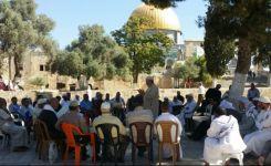 قيود إسرائيلية على المعتكفين في الأقصى